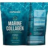 Collagene Idrolizzato Marino Premium Polvere - da Pesce del Nord Atlantico (No allevamento), Proteina Puro Peptidi per la Pelle, Capelli, Unghie, Articolazioni, Ossa e Digestione (Made in Canada)