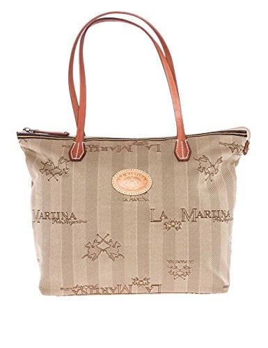 LA MARTINA Donne Shopping bag beige one size