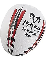 Solo Skills Rugby Ball – Rebound Wall Individual Shadow Training