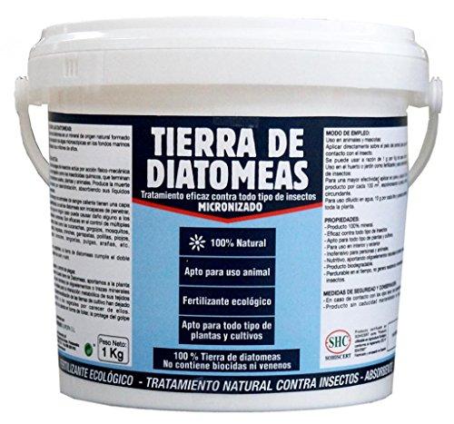 TIERRA DE DIATOMEAS 1Kg Fertilizante...