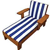 Home Wear Chaise with Cushion Lounge Chair, Red - Best Reviews Guide