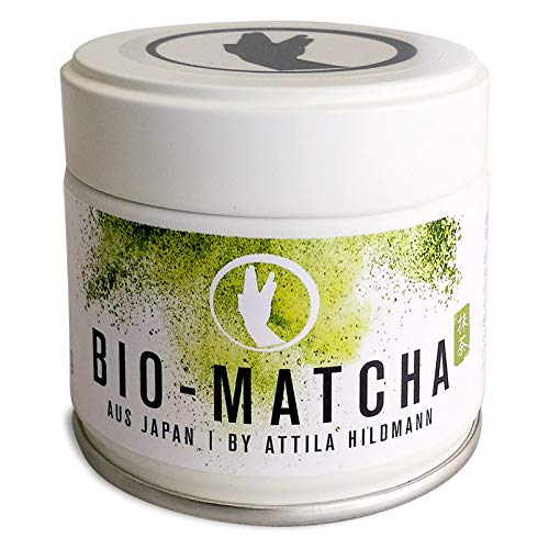 Preisvergleich Produktbild Bio-Matcha aus Japan By Attila Hildmann,  30 g