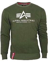 Alpha Industries Herren Pullover Basic Sweater