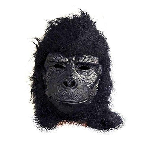Generico-mahal242-Maschera Gorilla con setole-Taglia