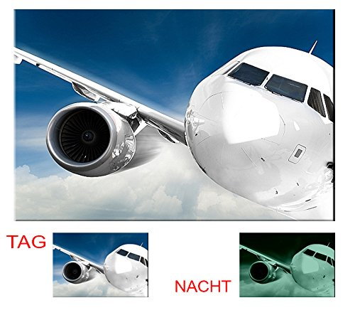 startonight-glow-in-the-dark-canvas-picture-plane-in-the-sky-90-x-60-cm