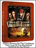 Review: Disney Pirates Of The Caribbean The Curse Of The Black Pearl Steelbook Blu Ray Review [OV]