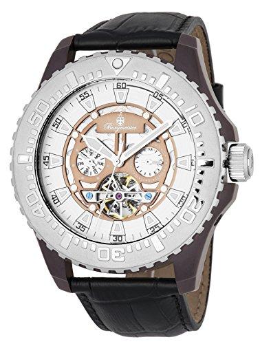 Burgmeister BM339-942 - Reloj de pulsera hombre, color Negro