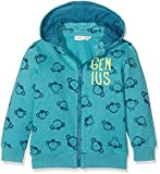 NAME IT Baby-Jungen Sweatshirt Nitfenkey Swe Card W/Det. Hood Bru Mini, Mehrfarbig (Baltic Baltic), 92
