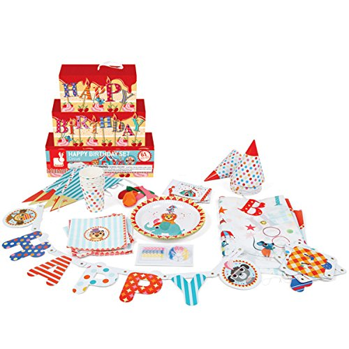 Kit anniversaire  – Happy Birthday Circus 51IvFaPVJxL