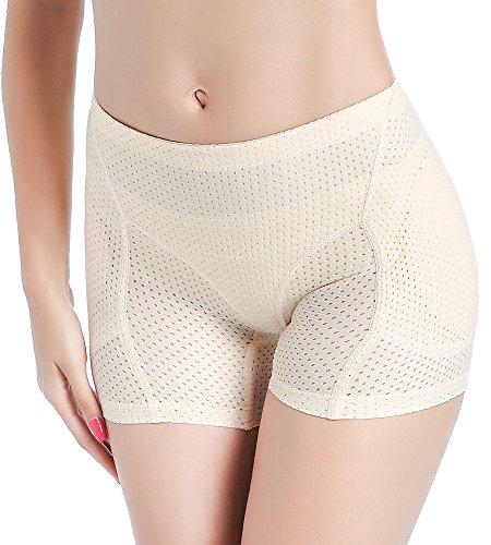 DODOING Butt Lifter Panties Boyshorts Damen Padded Höschen Seamless Pushup Unterwäsche Briefs -