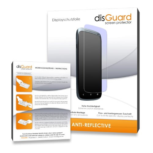 2 x disGuard® Displayschutzfolie ZTE Blade V7 Lite Displayschutz Folie