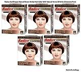 Radico Natural Brown Herbal Hair Color W...