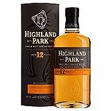 Highland Park 12 años Whisky escocés de malta simple (2 x 0,7 l)