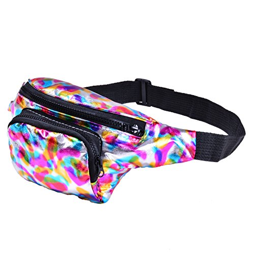 bfd-one-metallic-shiny-bumbag-bum-bag-running-belt-waiste-pack-fanny-pack-runner-bag-hip-pouch-for-m