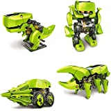Emob Cute Sunlight Solar Robot 4 in 1 Educational Toy Transform Into 4 Different Model