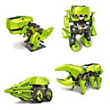 #1: Emob Cute Sunlight Solar Robot 4 In 1 Educational Toy Transform Into 4 Different Model