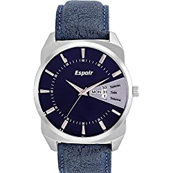 Espoir High Quality Analog Blue Dial Men's Watch -BDD507