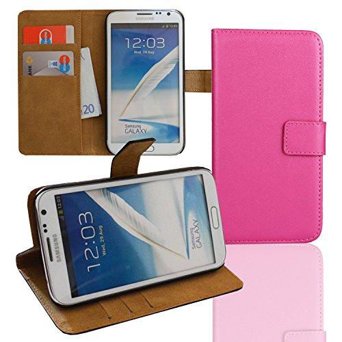 EximMobile Brieftasche Handytasche Flip Case Etui für Samsung Galaxy Mega 6.3 Pink