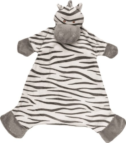 Suki Gifts - 10043 - Peluche - Jungle Friends - Zooma Zebra Blankie