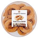 Il Viaggiator Goloso, Torcetti al Burro Biscotto Tipico Della Pasticceria Piemontese - 2 pezzi da 350 g [700 g]