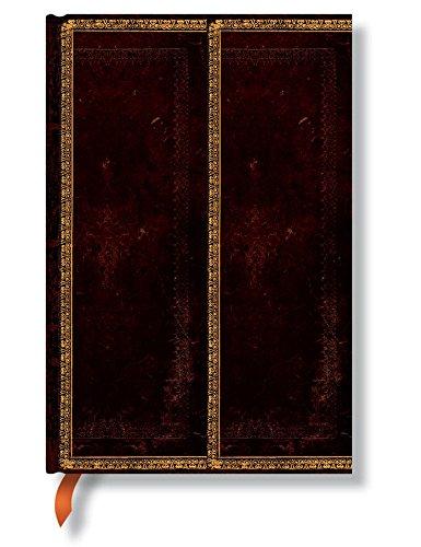 Preisvergleich Produktbild Black Moroccan Flexi Mini Lined Journal (Old Leather)