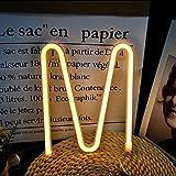 Neon Buchstaben Zeichen Nacht lichter LED Alphabet Neon Art Lichter Lampe Wand Dekor...