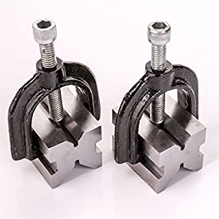 2x Precision Engineers V-Block Clamps - 1
