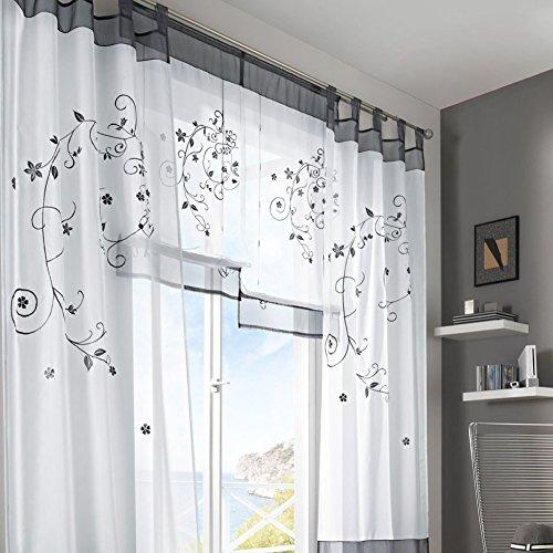 Fastar cortinas salon modernas cortinas pastorales de - Cortinas originales para dormitorio ...