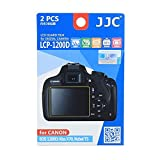 JJC LCP-1200D Ultra hrad polycarbonate LCD Film Screen Protector For Canon EOS REBEL T5 1200D X70 2PK