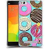 Head Case Designs Donut Sweet Summer Soft Gel Case for Xiaomi Mi 4c / Mi 4i