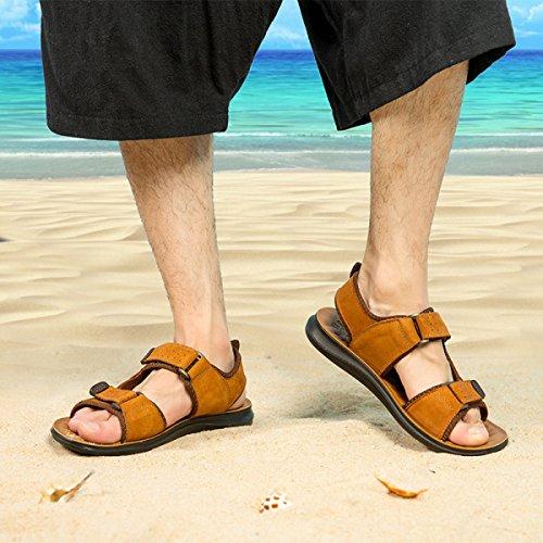 Herren Sandalen Strandschuhe Outdoor-Watschuhe Yellow