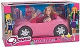Donna 36528 - Globo Fashion Doll con Auto Cabrio