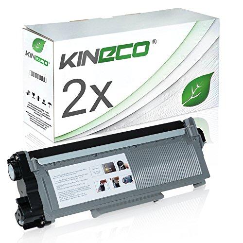 2 Toner kompatibel zu Brother TN-2320 TN-2310 für Brother HL-L2340DW, HL-L2300D, MFC-L2700DW, DCPL2520DWG1, DCP-L2500D, HL-L2360DN - TN2320 TN2310 - Schwarz XXL Füllmenge je 5.200 Seiten (Brother Hl-serie)