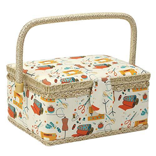 Cajas de costura con compartimentos