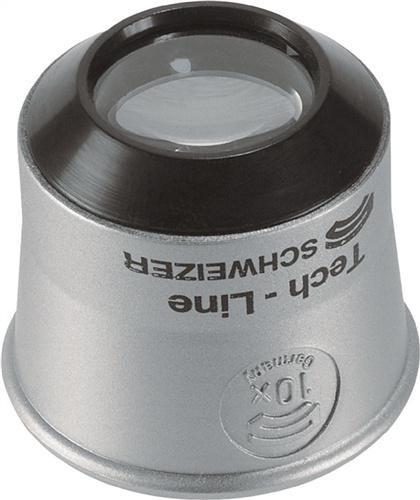 Uhrmacherlupe Tech-Line Vergrößerung 6x Linsen-D.22,8