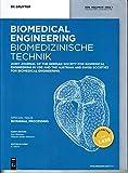 Biomedizinische Technik 1 2016 Biosignal Processing Zeitschrift Magazin Einzelheft Heft Biomedical Engineering
