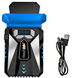 #8: Cosmic Byte HailStorm Laptop Vacuum Cooler with Temperature Display and Adjustable Fan Speed (Black/Blue)