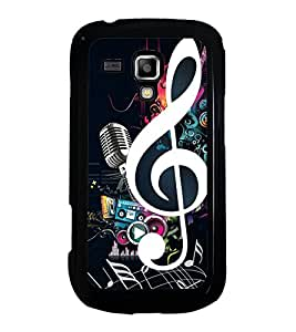 Printvisa Ultra Music 2D Hard Polycarbonate Designer Back Case Cover for Samsung Galaxy S Duo...