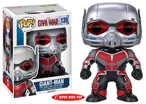 POP Bobble Marvel Captain America CW 6 Giant Man