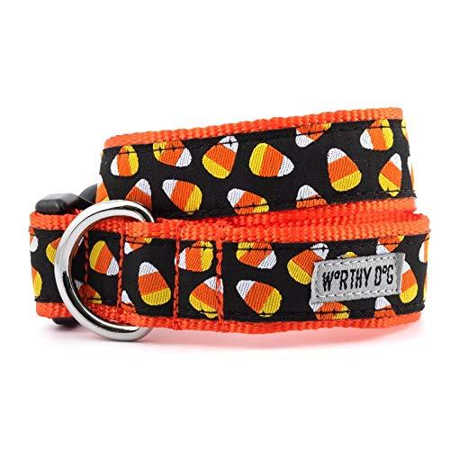 Dog Candy Kostüm - The Worthy Dog 23958-4223XL Halloween Kostüm Candy Corn Verstellbares Designer Hundehalsband