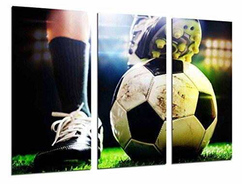 Cuadro Moderno Fotografico Motivacion Deporte Futbol, Balon, Pelota , 97 x 63 cm, ref. 26821