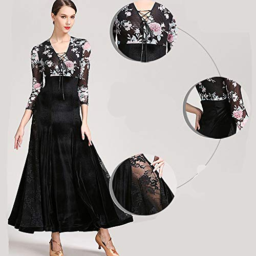 WESEASON Erwachsene Latult Dance Kleid Praxis Kostümguss Gatsby Dress Frauen 1920er Art Deco Sequin Paisley Flapper Tassel Glam Party Plus Größe XL (Flapper Für Erwachsene Plus Kostüm)