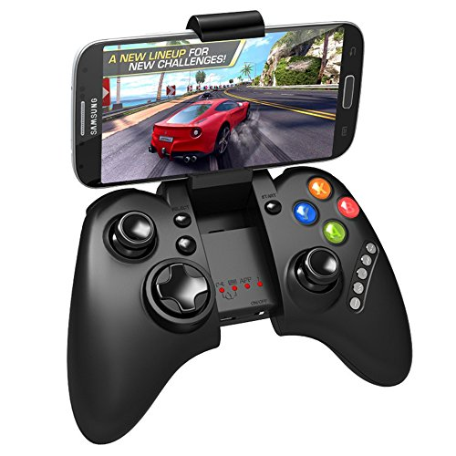 PYRUS neuer Bluetooth Controller Wireless Gamepad Joystick für PC iPad iPhone Samsung Android iOS