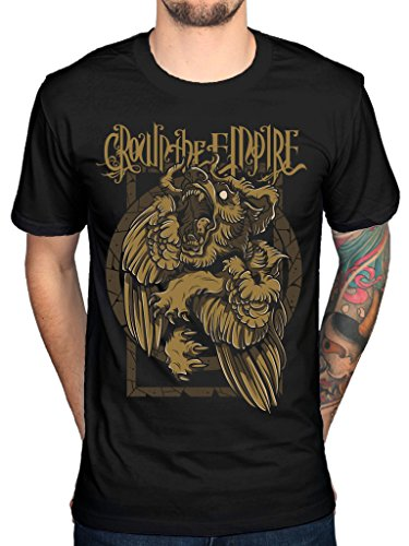 Official Crown The Empire Stone Wolves 2 T-Shirt (The Empire-band Crown)