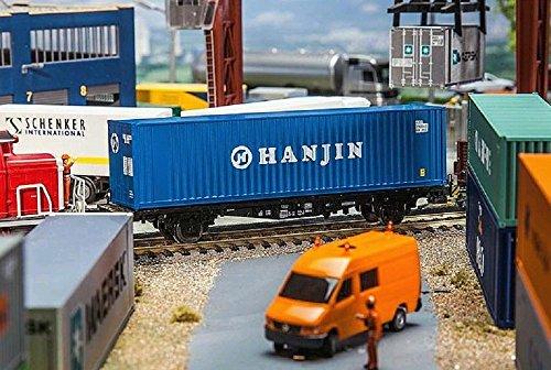 faller-fa-180842-40-hi-cube-container-hanjin-zubehor-fur-die-modelleisenbahn-modellbau