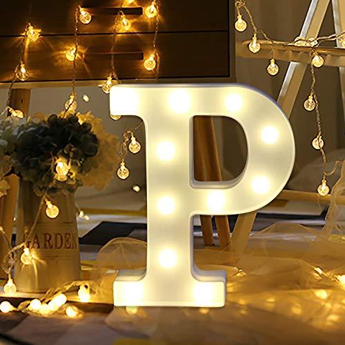 Warmpty Letras Luminosas Decorativas, Control Remoto Luces ...