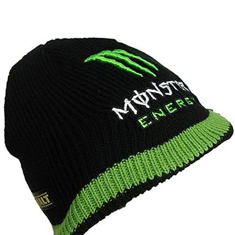 bsb Tech3Monster Energy schwarz Beanie Hat