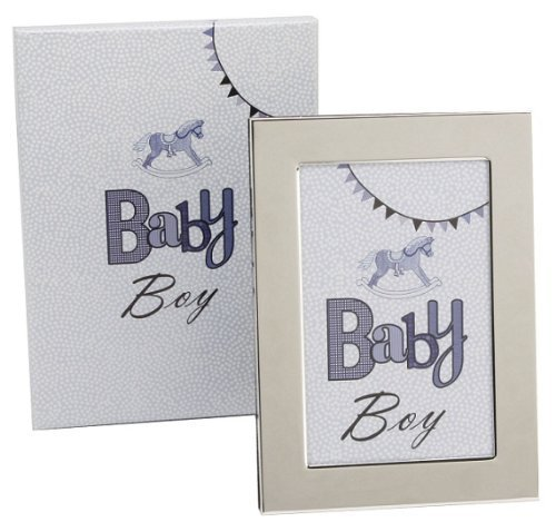 Laura Darrington Typography Coll S/P Frame Baby Boy 4x6 by Cigala-Art UK