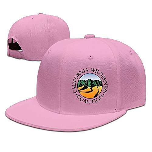 hittings-california-wilderness-coalition-new-summer-snapback-hats-plain-caps-pink