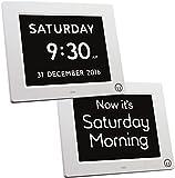 Unforgettable 2-in-1 Calendar & Day Clock - brand new 2017 latest edition